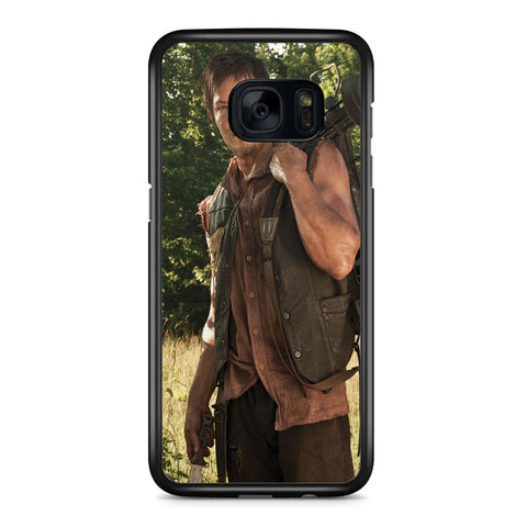 The Walking Dead Norman Reedus Samsung Galaxy S7 Edge Case Cover ISVA631