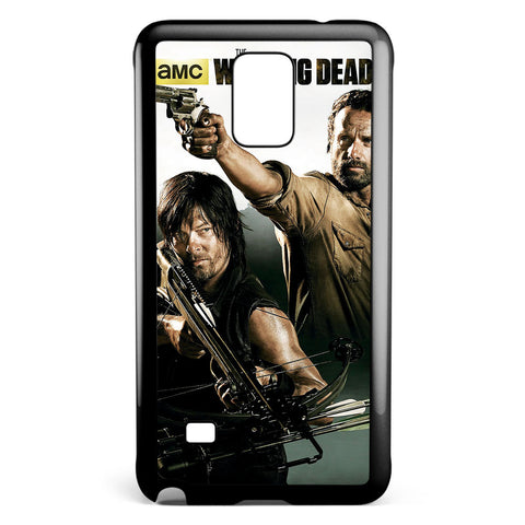 The Walking Dead Style Cool Art Samsung Galaxy Note 4 Case Cover ISVA640