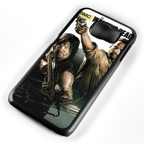The Walking Dead Style Cool Art Samsung Galaxy S6 Case Cover ISVA640