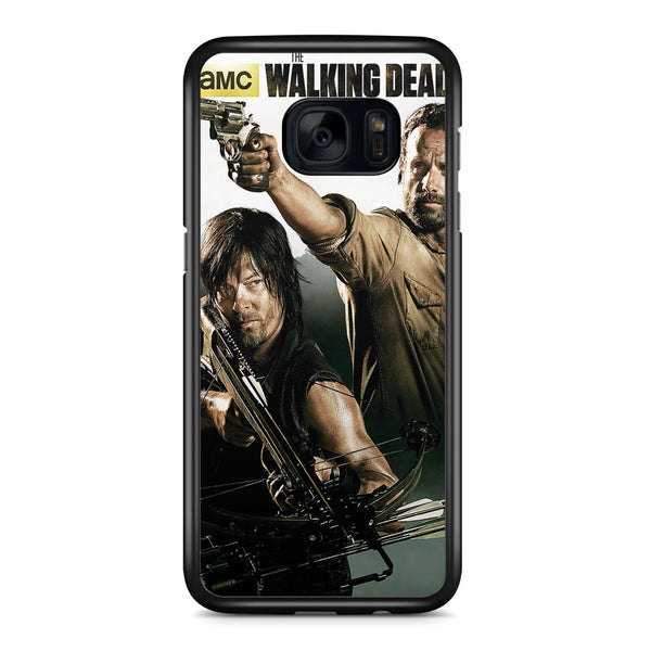 The Walking Dead Style Cool Art Samsung Galaxy S7 Edge Case Cover ISVA640
