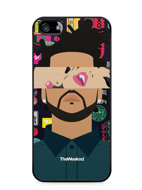 The Weeknd Cover Album Apple iPhone SE / iPhone 5 / iPhone 5s Case Cover  ISVA634