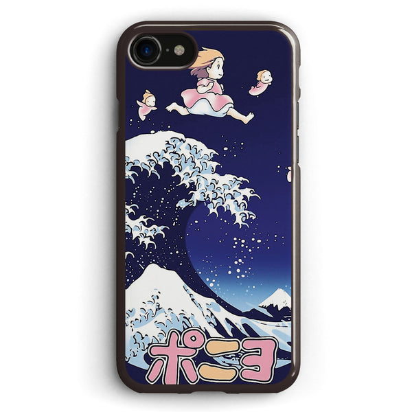 The Great Wave of Ponyo Apple iPhone 7 Case Cover ISVF478