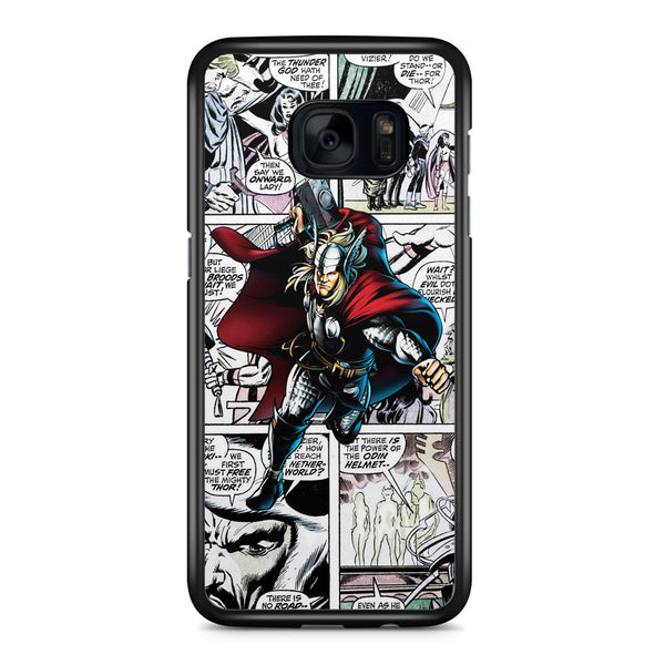 Thor Comic Strip Samsung Galaxy S7 Edge Case Cover ISVA336
