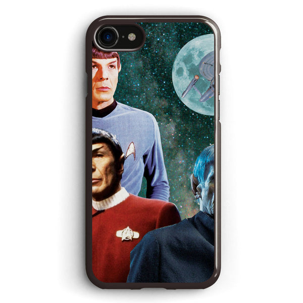 Three Spock Moon Star Trek Apple iPhone 7 Case Cover ISVH261