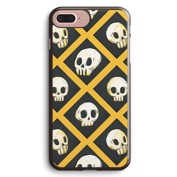 Tiling Skulls 14 Yellow Apple iPhone 7 Plus Case Cover ISVD761