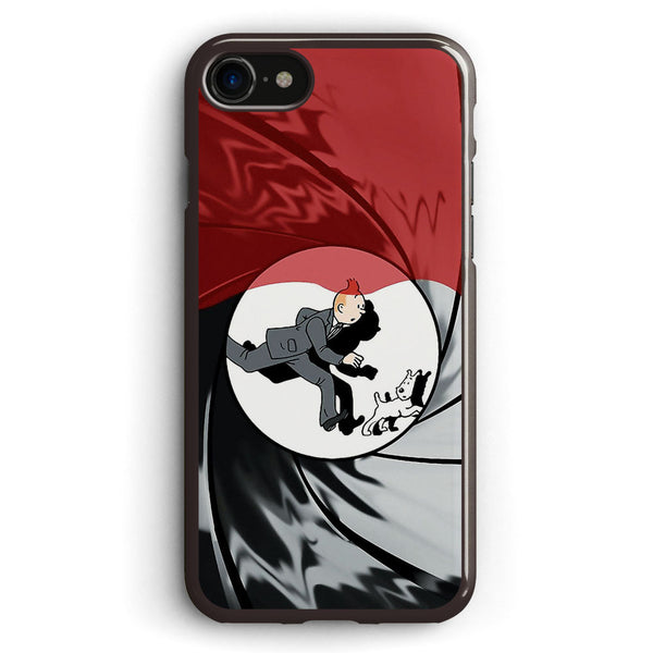 Tin Tin Vs James Bond Apple iPhone 7 Case Cover ISVB869