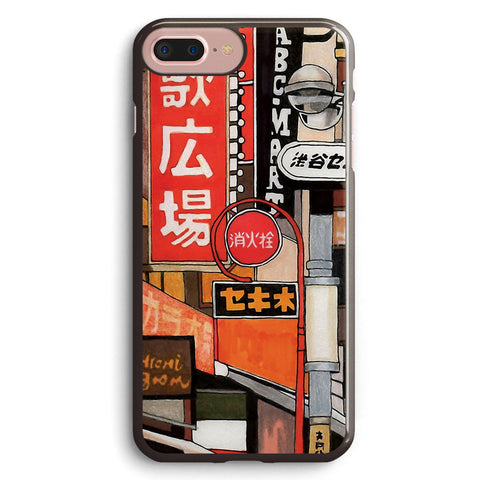 Tokyo Street Signs Apple iPhone 7 Plus Case Cover ISVG854