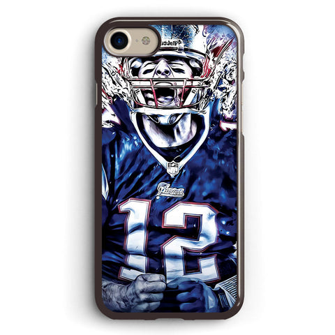 Tom Brady New England Patriots Apple iPhone 7 Case Cover ISVA638