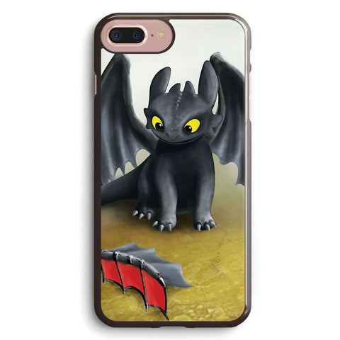 Toothless Dragon Inspired from How to Train Your Dragon Apple iPhone 7 Plus Case Cover ISVF947