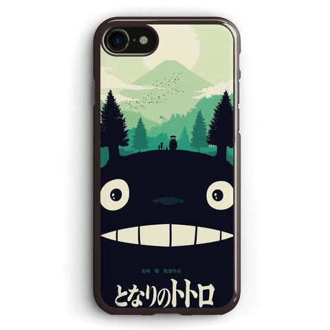 Totoro Poster Minimalist Apple iPhone 7 Case Cover ISVH273