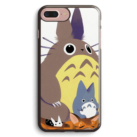 Totoro and Baby Totoro Apple iPhone 7 Plus Case Cover ISVF519