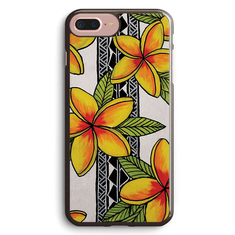 Tribal Plumerias Apple iPhone 7 Plus Case Cover ISVG362