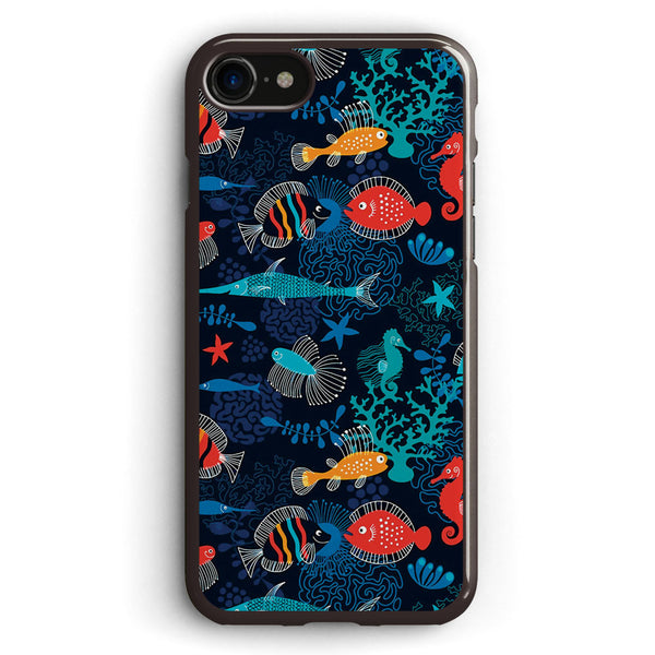 Tropical Fish Under the Sea Apple iPhone 7 Case Cover ISVD769
