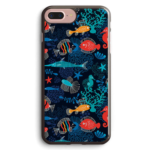 Tropical Fish Under the Sea Apple iPhone 7 Plus Case Cover ISVD769