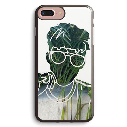 Troye Sivan Outline Plant Apple iPhone 7 Plus Case Cover ISVC538