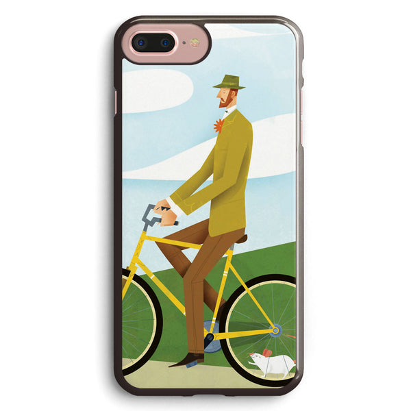 Tweed Cyclist on Mice Power Poster Apple iPhone 7 Plus Case Cover ISVE833