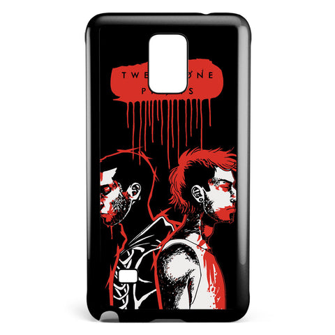 Twenty One Pilots Art Samsung Galaxy Note 4 Case Cover ISVA401