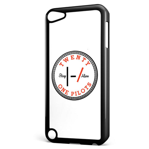Twenty One Pilots Logo Stay Alive Apple iPod Touch 5 Case Cover ISVA276