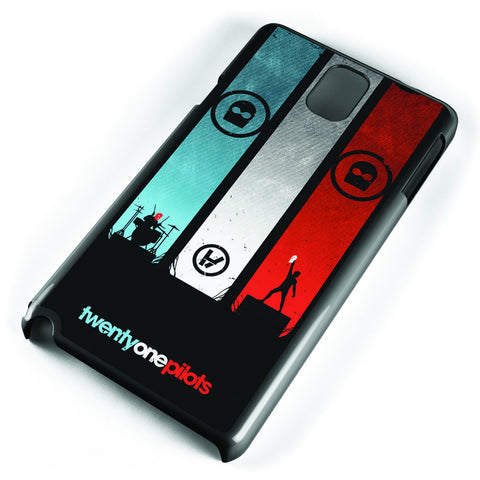 Twenty One Pilots Poster Samsung Galaxy Note 3 Case Cover ISVA043