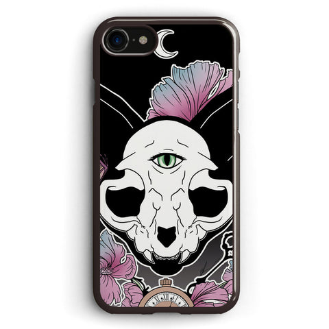 Twilight Skull Cat Apple iPhone 7 Case Cover ISVH650