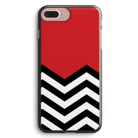 Twin Peaks Chevron Pattern Apple iPhone 7 Plus Case Cover ISVH651