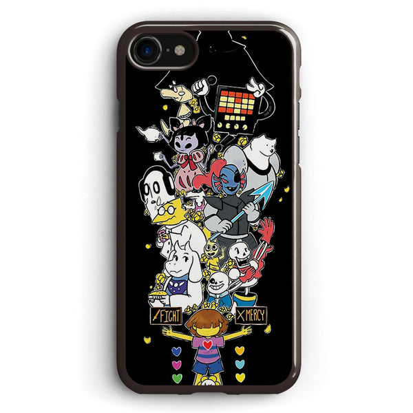 Undertale   Fight or Mercy Ultimate High Quality Apple iPhone 7 Case Cover ISVB301