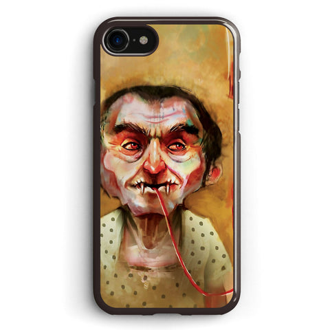 Vampire Sucking Blood Apple iPhone 7 Case Cover ISVF537