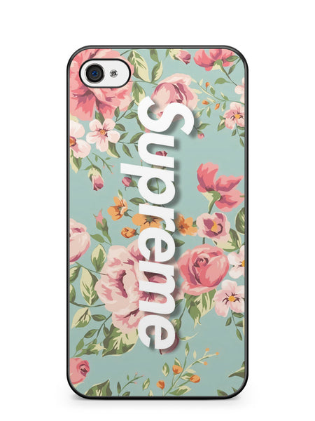 Vintage Flower Supreme Apple iPhone 4 / iPhone 4S Case Cover ISVA623