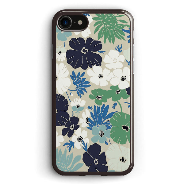 Vintage Flowers Pattern Apple iPhone 7 Case Cover ISVH285