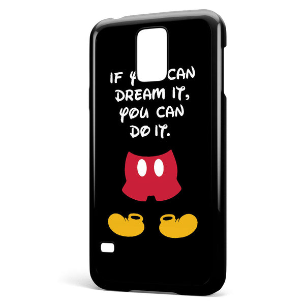 Walt Disney Quote Samsung Galaxy S5 Case Cover ISVA394