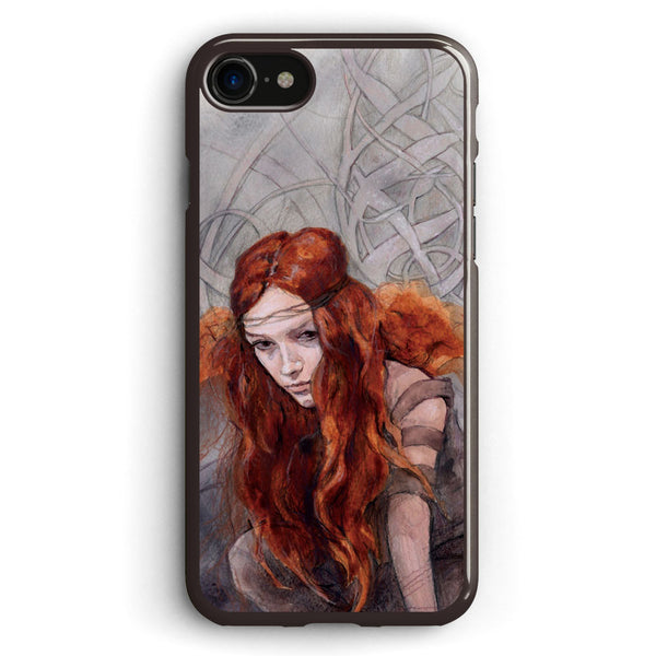 Warrior in Winter Apple iPhone 7 Case Cover ISVB892