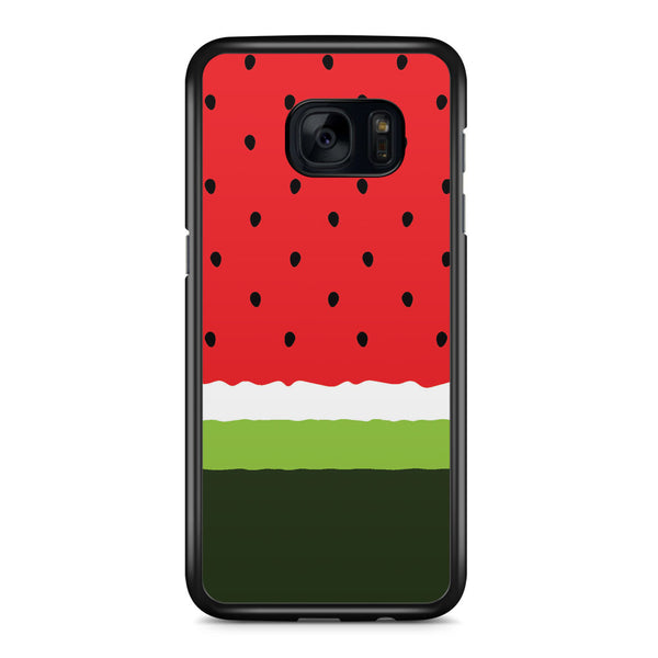 Watermelon Minimalist Samsung Galaxy S7 Edge Case Cover ISVA403