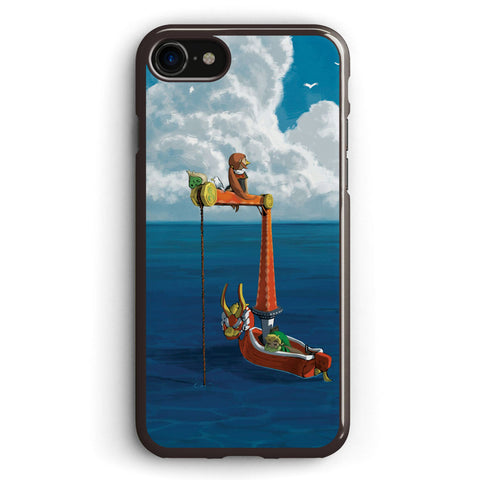 Wind Waker Lone Ocean Apple iPhone 7 Case Cover ISVG882