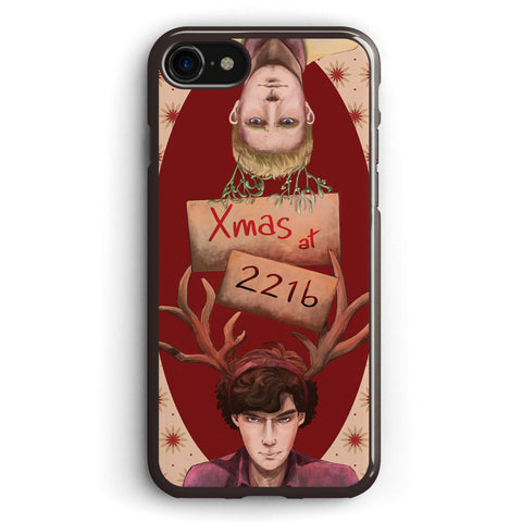 Xmas at 221b Apple iPhone 7 Case Cover ISVD176