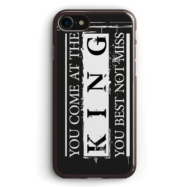 You Come at the King, You Best Not Miss the Wire Apple iPhone 7 Case Cover ISVE884