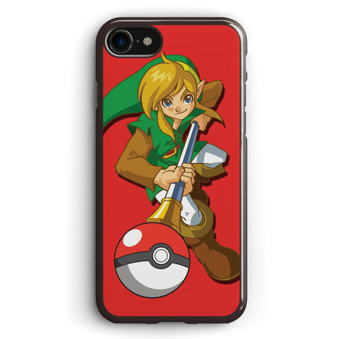Zelda Pokemon Apple iPhone 7 Case Cover ISVF989
