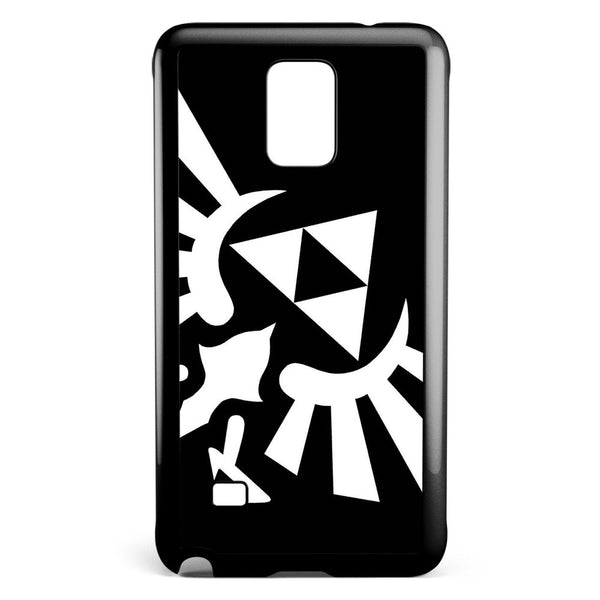 Zelda Triforce Wings Samsung Galaxy Note 4 Case Cover ISVA366