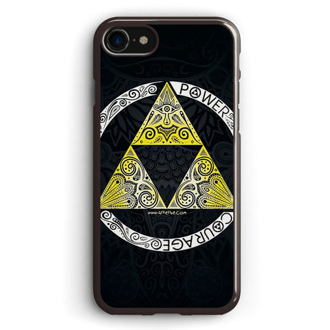 Zelda Triforce Circle Apple iPhone 7 Case Cover ISVH674