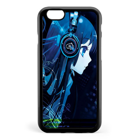 Anime Dj Girl Apple iPhone 6 / iPhone 6s Case Cover ISVH696