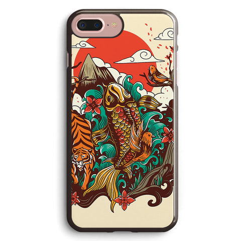 Autumn Sunset Apple iPhone 7 Plus Case Cover ISVH707