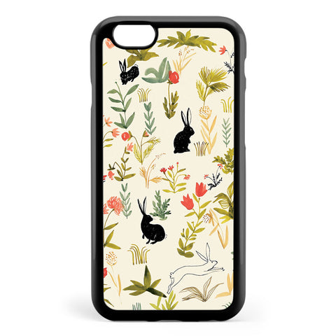 Black Rabbits Apple iPhone 6 / iPhone 6s Case Cover ISVH346