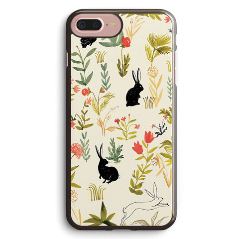 Black Rabbits Apple iPhone 7 Plus Case Cover ISVH346