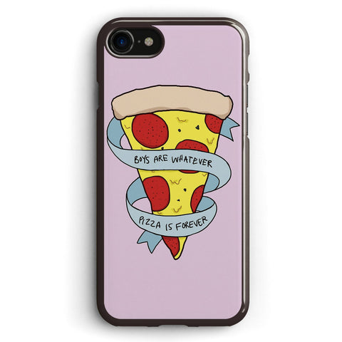 Boys Are Whatever, Pizza is Forever Apple iPhone 7 Case Cover ISVD867