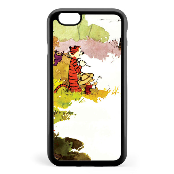 Calvin and Hobbes Funny Forest Apple iPhone 6 / iPhone 6s Case Cover ISVE423