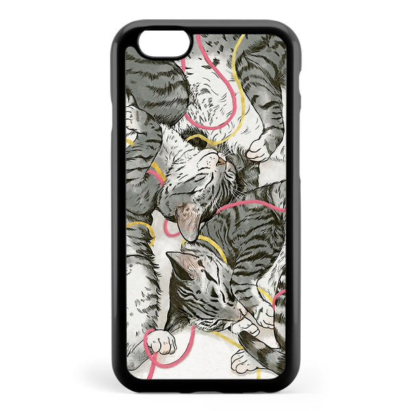 Cats Rose and Gold Apple iPhone 6 / iPhone 6s Case Cover ISVD876