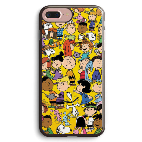 Charlie Brown Yellow Peanuts Apple iPhone 7 Plus Case Cover ISVH753