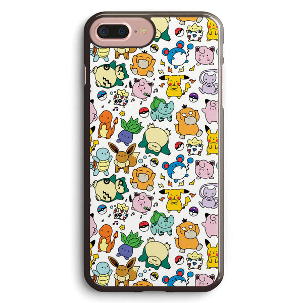 Pokemon Doodles Apple iPhone 7 Plus Case Cover ISVF335