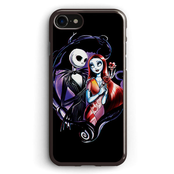 Skeleton Love and Romance Apple iPhone 7 Case Cover ISVH205