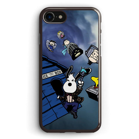Snoopy and Friends in Doctor Who Apple iPhone 7 Case Cover ISVE214