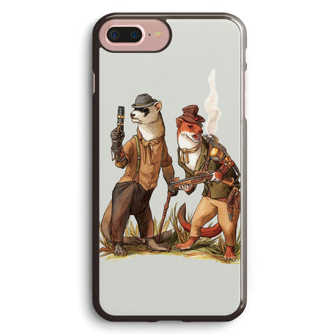 Steampunk Weasels Apple iPhone 7 Plus Case Cover ISVG313